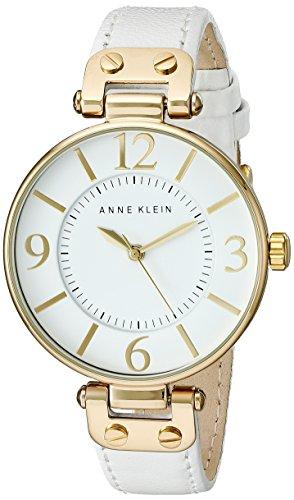 Reloj Anne Klein para Mujer 34mm, pulsera de Piel
