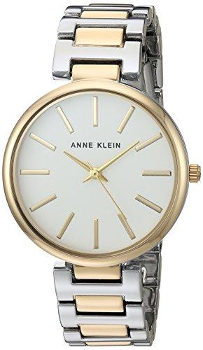 Reloj Anne Klein para Mujer 34mm, pulsera de Acero Inoxidable