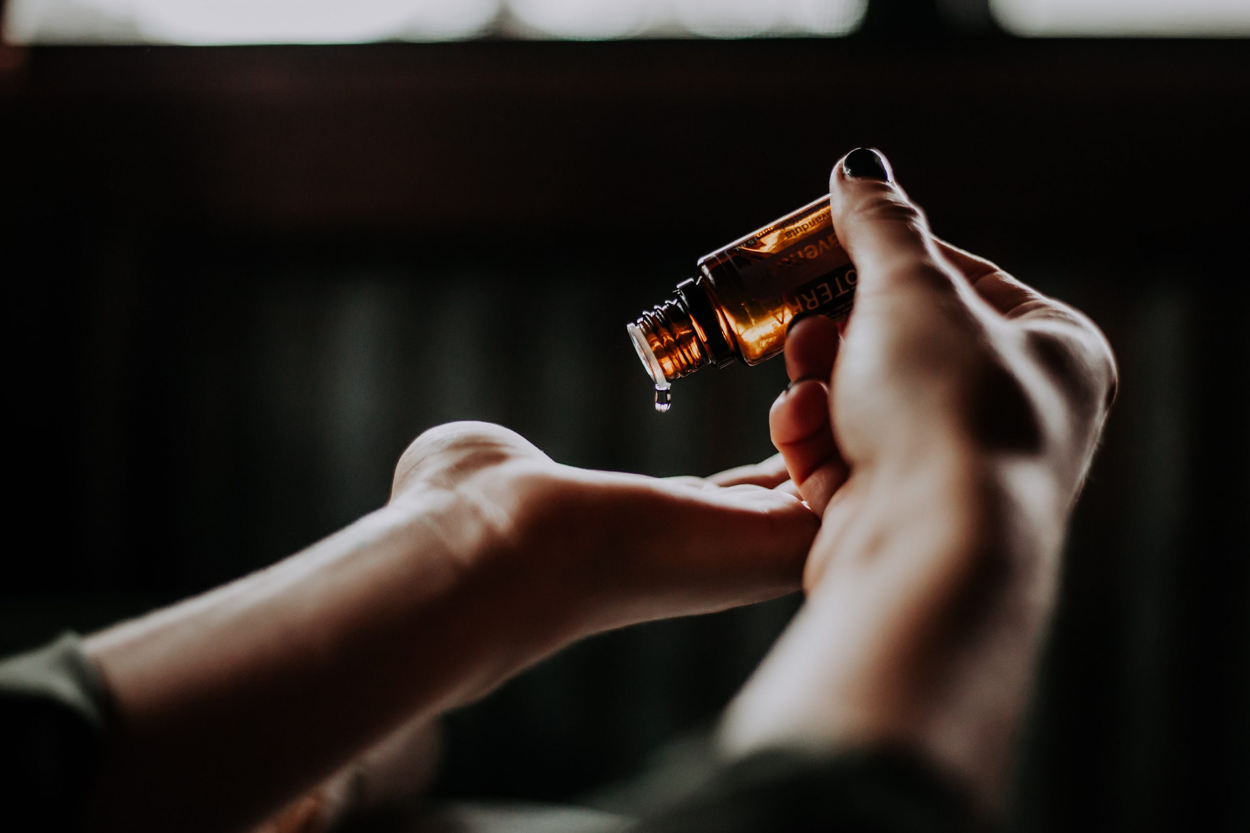 aceite para manos