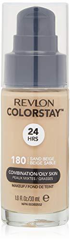 Revlon ColorStay - Base líquida para piel mixta y grasa, maquillaje Colorstay para piel grasa/combinación, Beige Arena