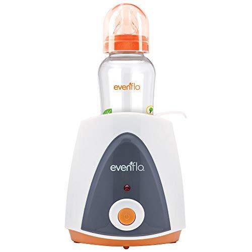Evenflo Calentador de Biberones Eléctrico, para biberones de cuello delgado o cuello ancho, MEX.