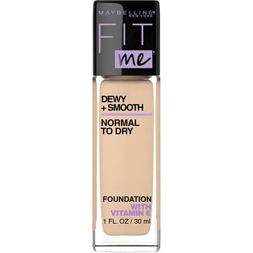 Maybelline Base de Maquillaje Fit Me Hidratante, 120 Classic Ivory