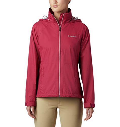 Columbia Chaqueta Switchback Iii para mujer, rojo (Red orchid), L