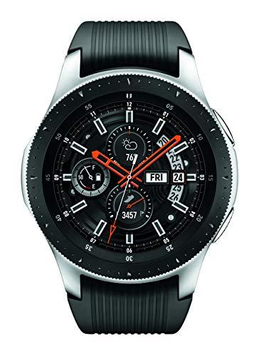 Samsung SM-R800NZSAXAR Galaxy Watch - Reloj Inteligente, Bluetooth, Plateado (Silver), 46 mm