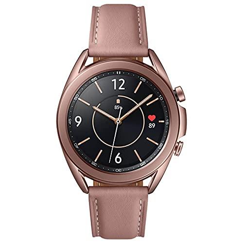 Reloj inteligente Samsung Galaxy Watch3 2020 (Bluetooth + wifi + GPS), modelo internacional (bronce, 41 mm)