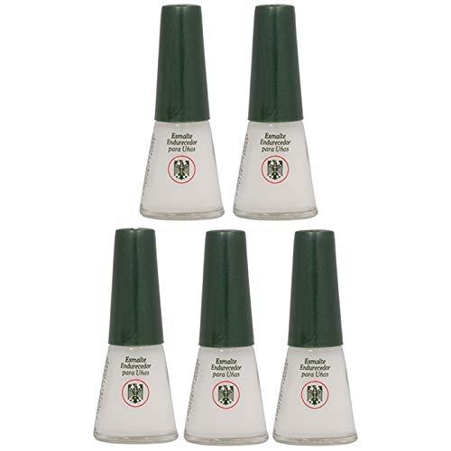 Quimica Alemana endurecedor de uñas 0.47 oz (Paquete de 5) con Lima de uñas Gratis
