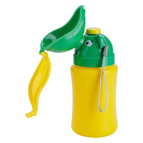 Orinal Portatil De Emergencia Para Niñas Orinal De Emergencia Portátil Inodoro Orinal Para Bebé 500 Ml Pee Botella Para Bebé Niño Niños Coche Viaje Camping(Para Mujeres)