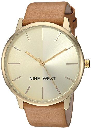 Reloj Nine West Spring Summer 2017 para Mujer 40mm, pulsera de Piel de Becerro