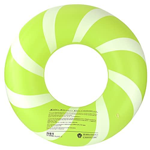 Bestrip Flotador Inflable 76x34cm Anillo de Natación para Alberca Piscina en Verano Divertido para Adultos/as y Niños/as