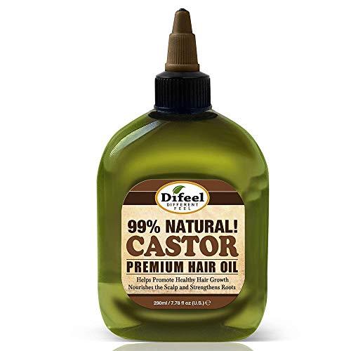 Aceite de Ricino   Difeel   Aceite de Ricino 99% Natural   Para el Cabello   Premium   230 ml