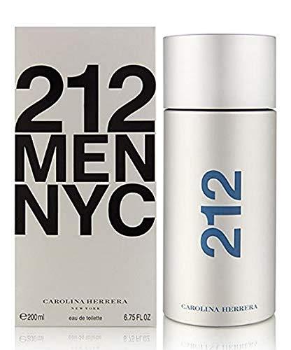 212 by Carolina Herrera Eau De Toilette Spray For Men 6.7 oz 200 ml.