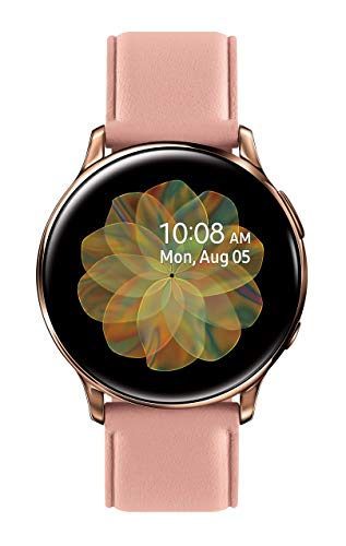 Samsung Galaxy Watch Active 2 (40mm, GPS, Bluetooth, Unlocked LTE) Smart Watch with Advanced Health Monitoring, Fitness Tracking, and Long Lasting Battery, Pink Gold - (US Version)