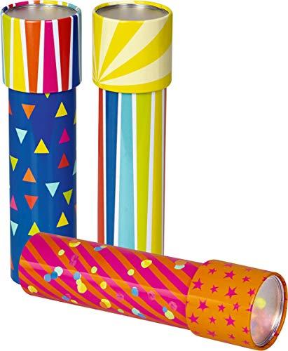 Spiegelburg Caleidoscopio mágico de Metal con Figuras de Colores Especial para niños pequeños de Lindo diseño y excelente Calidad Alemana, diseño Aleatorio