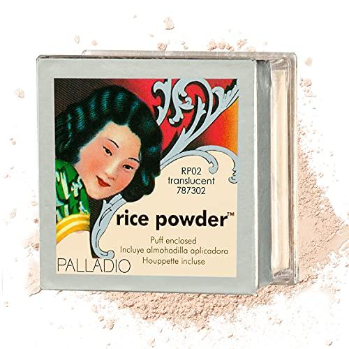 Polvo de arroz Palladio, Polvo, Translúcido, Paquete de 1