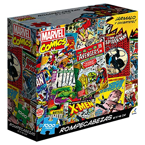 Novelty Corp Rompecabezas Adulto Marvel Comics