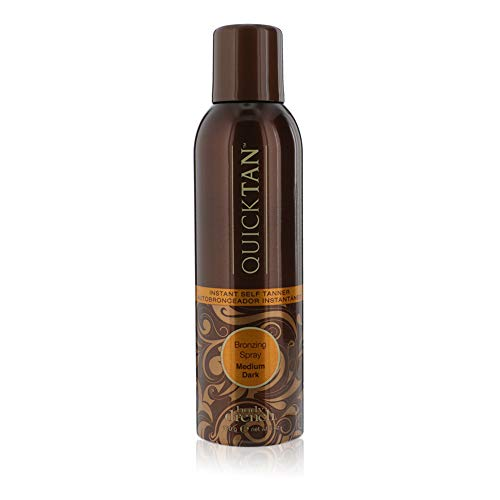 Body Drench Quicktan Quick Tan Bronzing Spray Medium Dark (The Perfect Ultra Bronzing Self-tanner a Fast-drying Formula) - Size 6 Oz / 170g by Body Drench