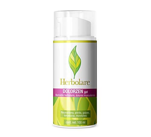 Dolorzen gel 100 ml origen 100% natural contra el dolor muscular. Herbolare