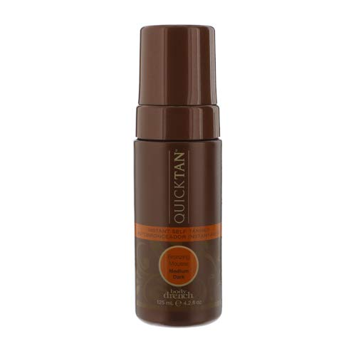 Body Drench Quick Tan Instant Self Tanner Mousse, Medium/Dark, 4.2 Ounce