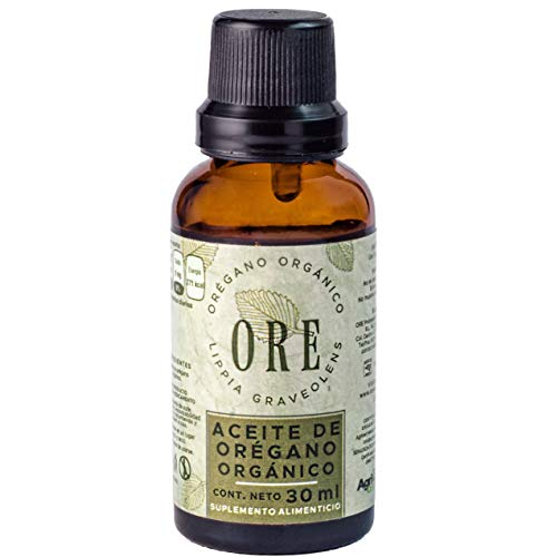 Aceite Esencial De Orégano Orgánico Ore 30 Ml