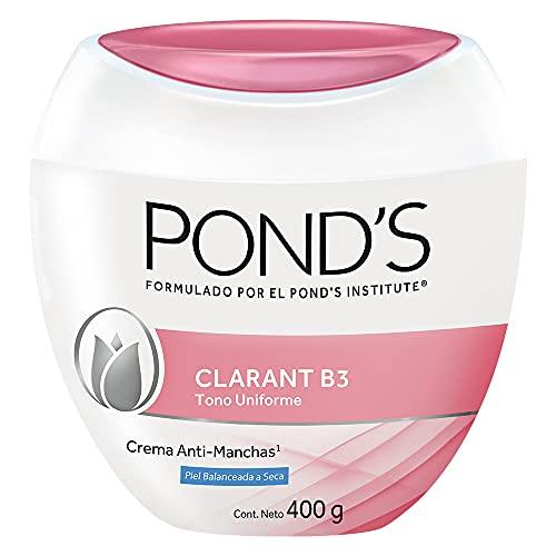 Pond's Crema Facial Anti-manchas Clarant B3 Piel Balanceada a Seca 400 g