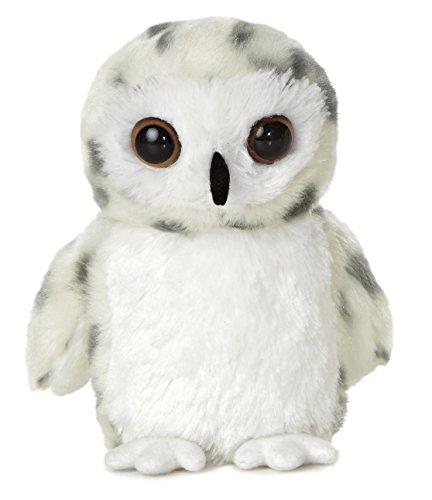 Mini Flopsie Plush Snowy Owl