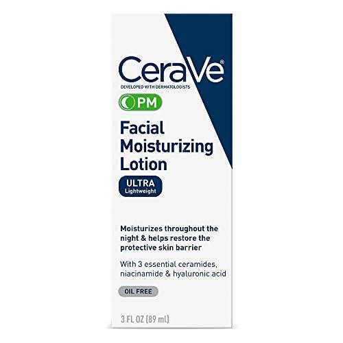 Cerave Moisturizing Facial Lotion Pm, 3 Onzas