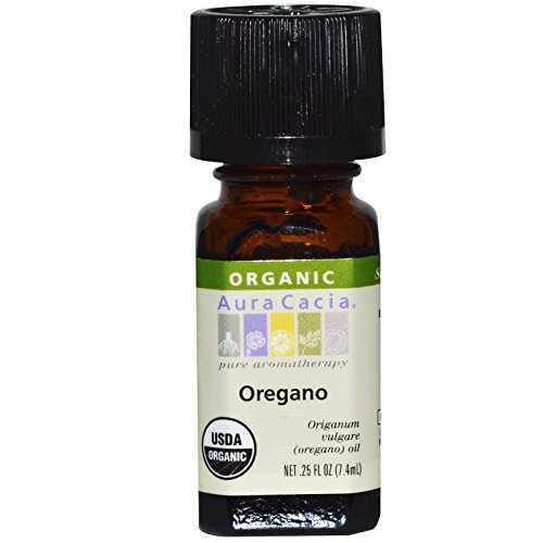 Pack of 1 x Aura Cacia Organic Oregano - .25 oz