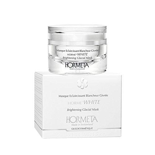 HORMETA - BRIGHTENING GLACIAL MASK - Mascarilla aclarante enriquecida con vitamina C, hidrata e ilumina la piel.