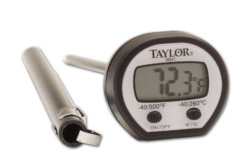 Taylor Precision Products Termómetro digital de alta temperatura
