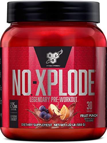 BSN N.O.-XPLODE, Fruit Punch, 1.22 lb (30 Servings)