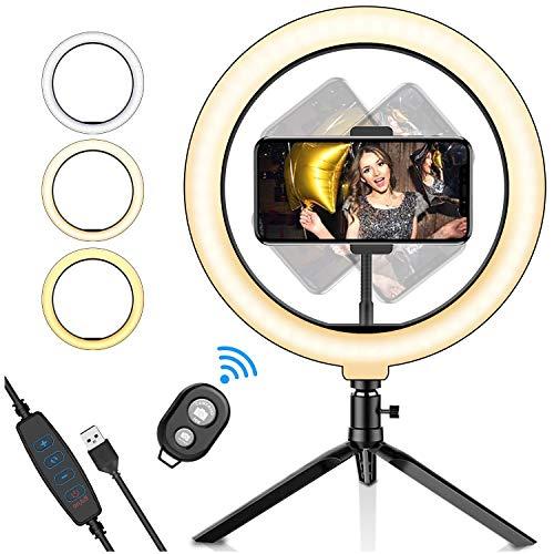 Aro de Luz LED para selfie de 10,2