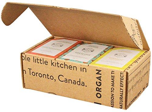 Caja de jabón Crate 61, paquete de 6 unidades, jabón 100% vegano en frío, perfumado con aceites esenciales de primera calidad y sabores naturales, para hombres y mujeres, cara y cuerpo.