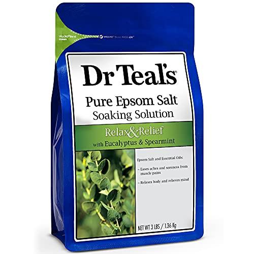 Dr Teals Dr Teal's Sales De Epsom Eucalipto 1.36 Kg, color, 1360 gram, pack of/paquete de